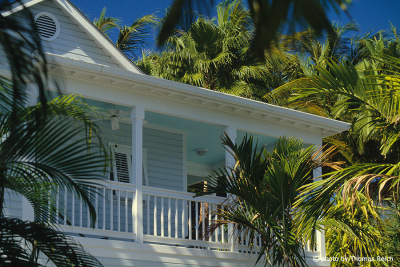 Kolonialhaus in Key West, Florida