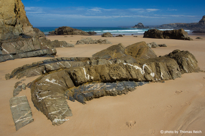 Beaches west cost of Portugal
