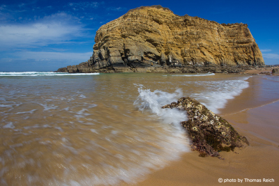 Beach southwest coast of Portugal
