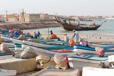 Harbour of Al Ashkhara, Oman