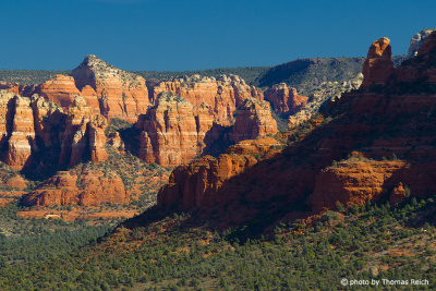 Berge Sedona Region Arizona