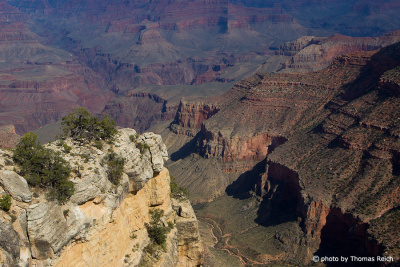 Wanderweg in den Grand Canyon