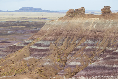 Blue Mesa, Petrified-Forest-Nationalpark, Arizona