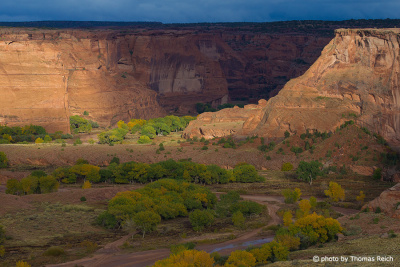 Canyon de Chelly im Herbst