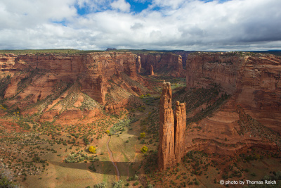 Spider Rock, Canyon de Chelly, USA