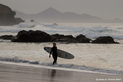 Surfen in La Pared