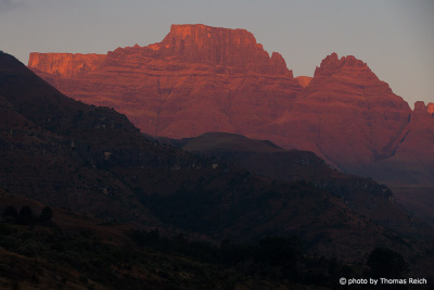 Champagne Castle, Cathin Peak & Sterkhorn, Central Drakensberg