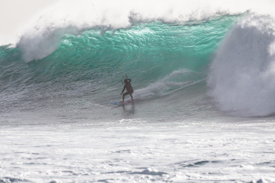 Big Wave Kiteboarding El Cotillo