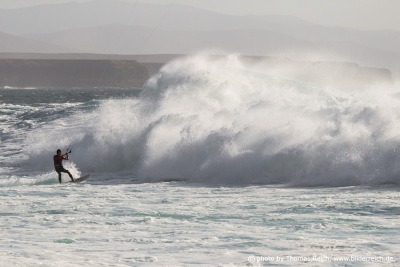 Big Wave Kitesurfing El Cotillo