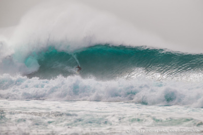 Big Wave Surfen El Cotillo