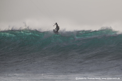 Big Wave Kitesurfen El Cotillo