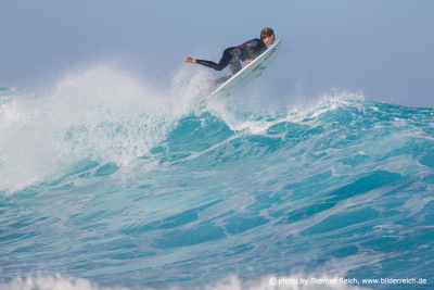 Clement Roseyro Surfing