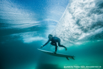 Duck Dive Surfer